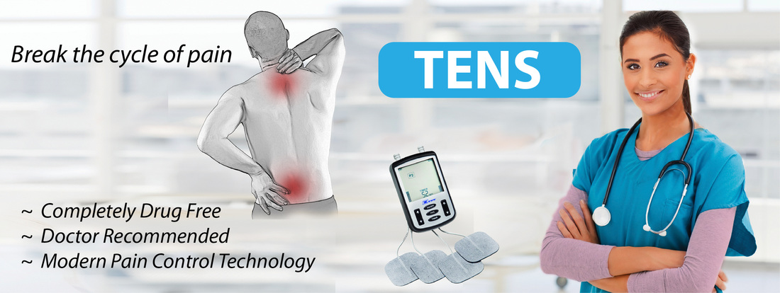 Break the Cycle of Pain TENS Drug Free Pain Control Technology