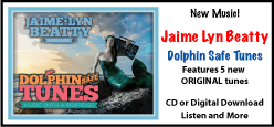 Jaime Lyn Beatty, Dolphin Safe Tunes. Original music CD.