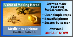 A Year of Making Herbal medicines at Home. A new book by David Reed Beatty, D.O.