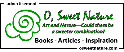 O Sweet Nature books articles inspiration for creatives.